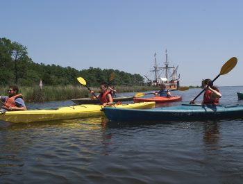 Roanoke Island and Lost Colony Kayak Tour