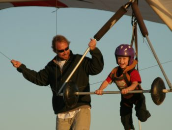 Kids Hang Gliding Lessons