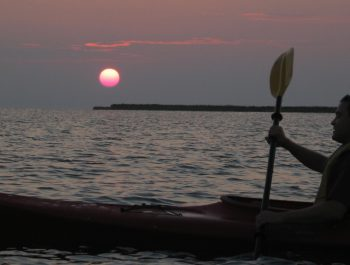 Sunset or night time kayaking tours are a whole new way to experience the Outer Banks.