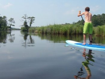 Virginia Beach Stand Up Paddleboarding