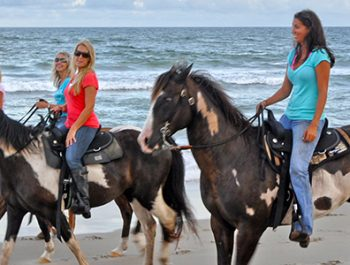Hatteras Beach Horseback Riding Tours