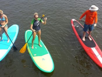 Kids Stand Up Paddleboarding Lessons