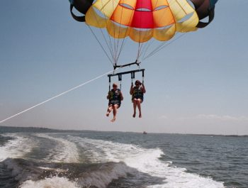 Parasailing in Manteo