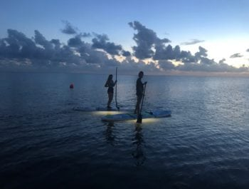 Light-Up SUP at Waves Village
