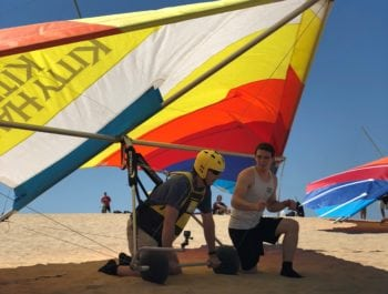 How To Become A Hang Gliding Pilot Kitty Hawk Kites