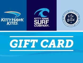 Kitty Hawk Kites gift card