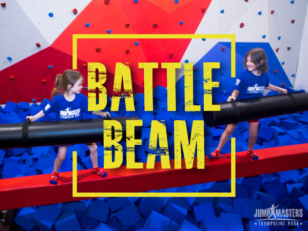 Battle Beam - JumpMasters Trampoline Park